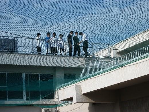 久留米高専学生寮にて避難訓練を実施しました